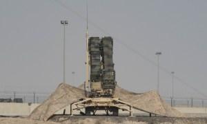 The Patriots defending Ali Al Salem Air Base, Kuwait