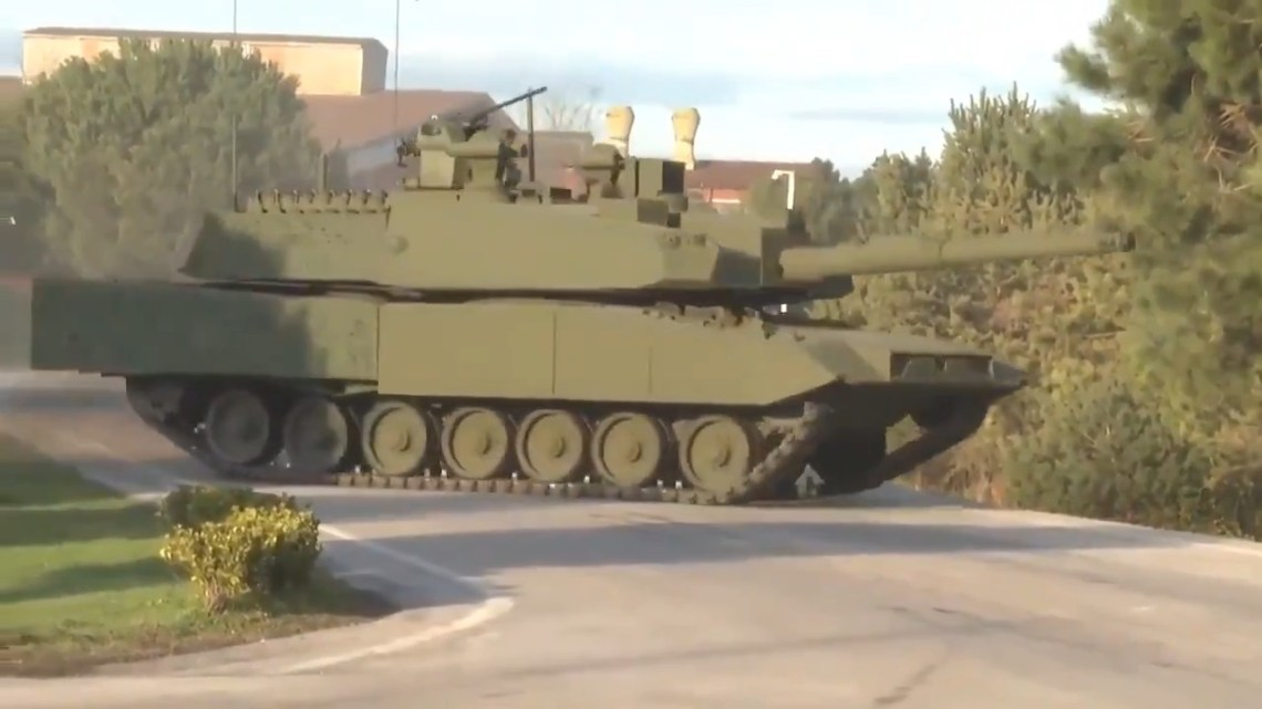 Turkish Company BMC Unveils Hybrid Main Battle Tank