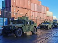 Ukrainian Land Forces Receives New Batch of Humvee Armoured Vehicles and Boats