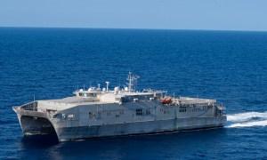 US Navy USNS Trenton Conducts Maritime Operations with Tunisian Navy