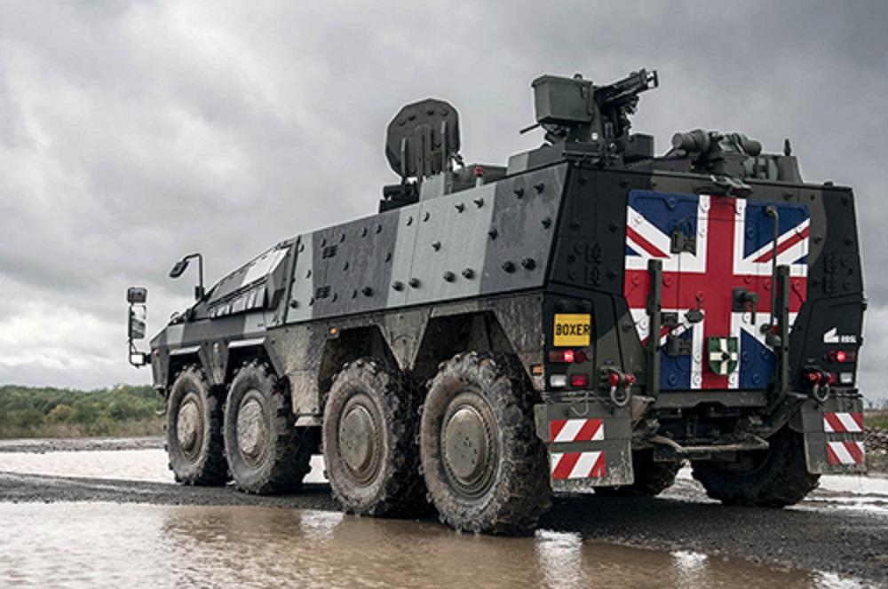 British Army Boxer Mechanised Infantry Vehicle (MIV)