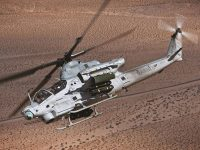 Bell AH-1Z Viper twin-engine attack helicopter