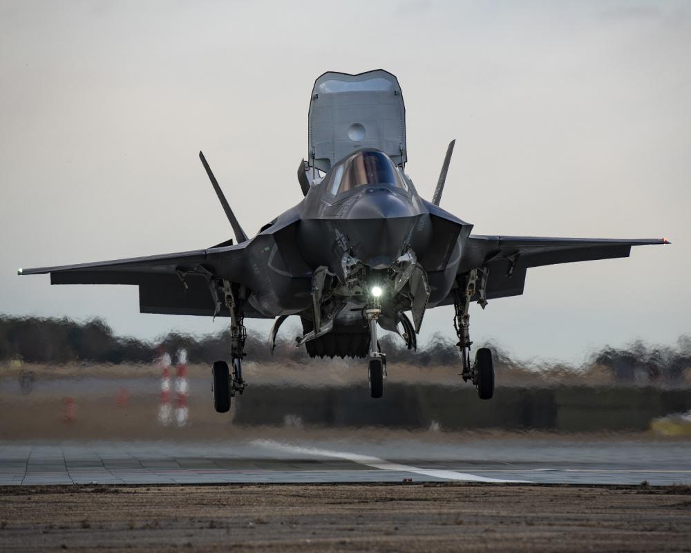 F-35B Test Pilots Train for Cavour Sea Trials