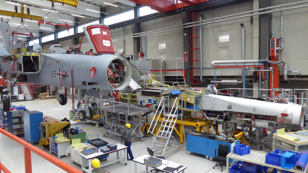 First German Air Force Panavia Tornado Completes Life-extension Programme Makes Maiden Flight