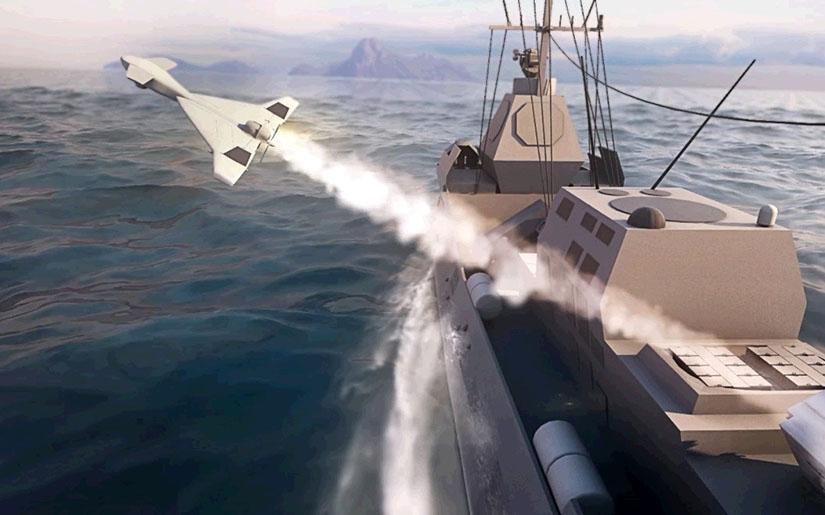 IAI Maritime HAROP Loitering Munition System