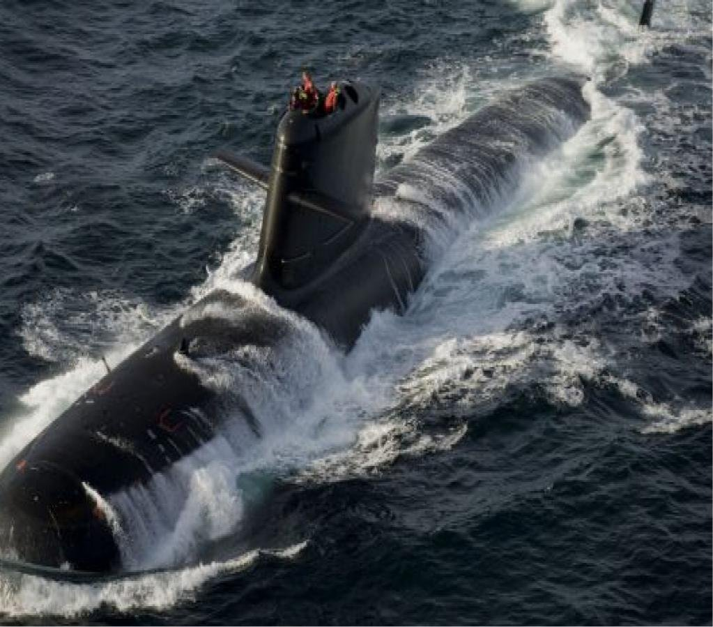 Indian Navy INS Karanj Kalvari class Submarine