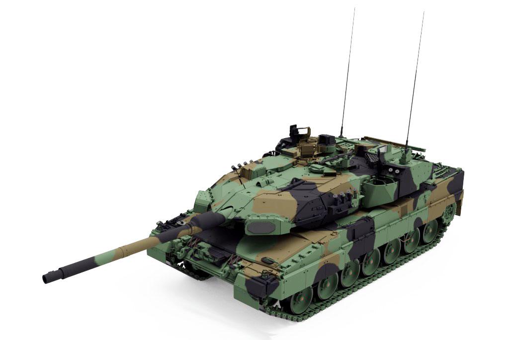 Leopard 2 A7A1 Main Battle Tank
