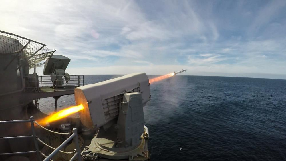 The RAM missile is deployed on more than 165 ships in eight countries, ranging from 500-ton fast attack craft to 95,000-ton aircraft carriers.