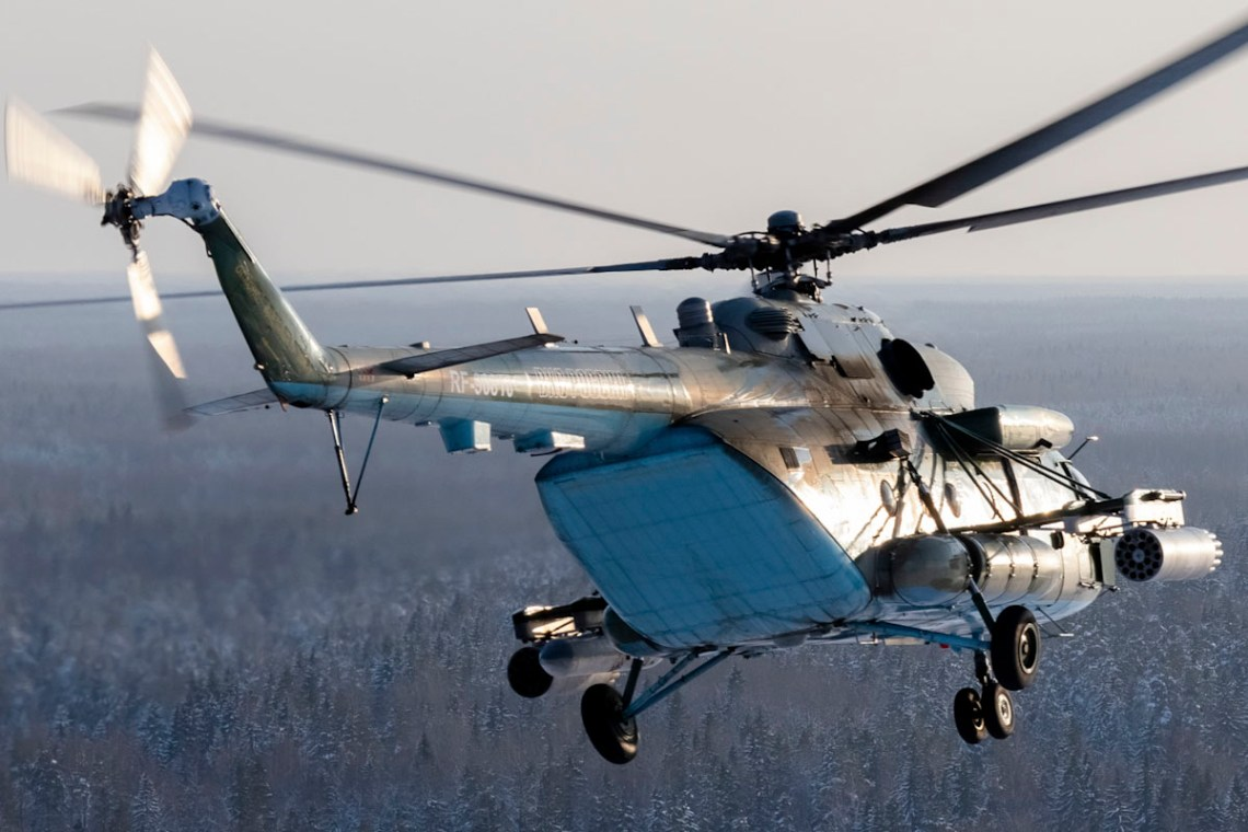 Russian Western Military District Mil Mi-8 Hip