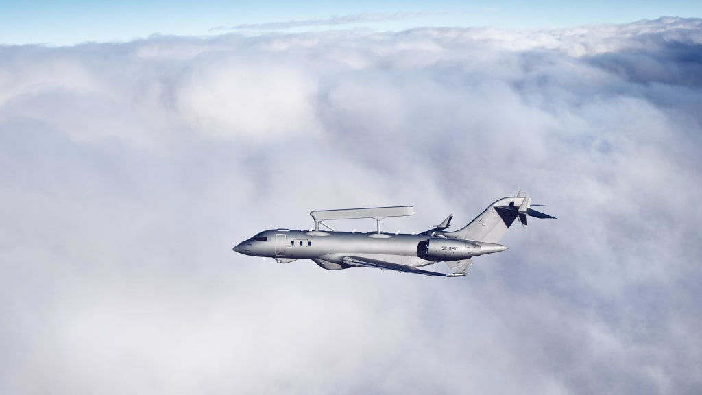 Saab Delivers Third GlobalEye to United Arab Emirates Air Force