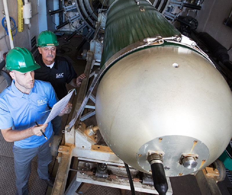 SAIC Awarded US Navy Contract for MK48 Heavyweight Torpedo Fuel Tanks