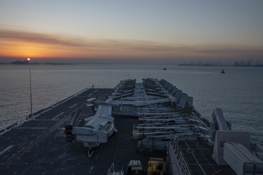 USS Makin Island (LHD 8) Conducts Port Visit in Bahrain
