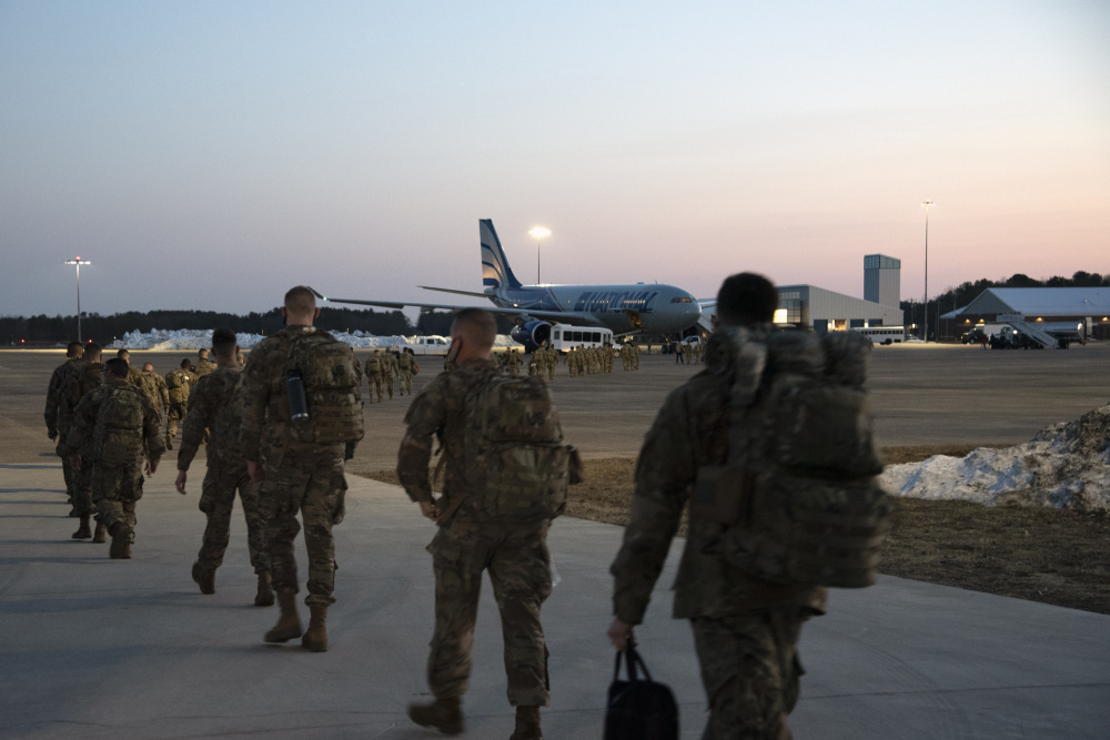 US Army 1-102nd Infantry Deploys to the Horn of Africa