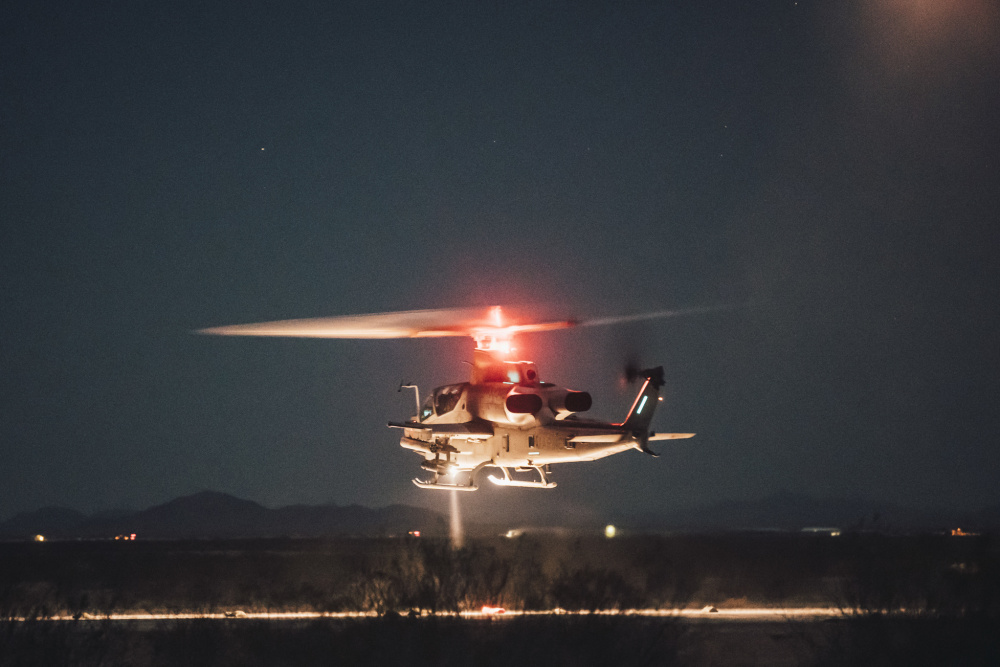 11th MEU Projects Combat Power with FARP at RUT