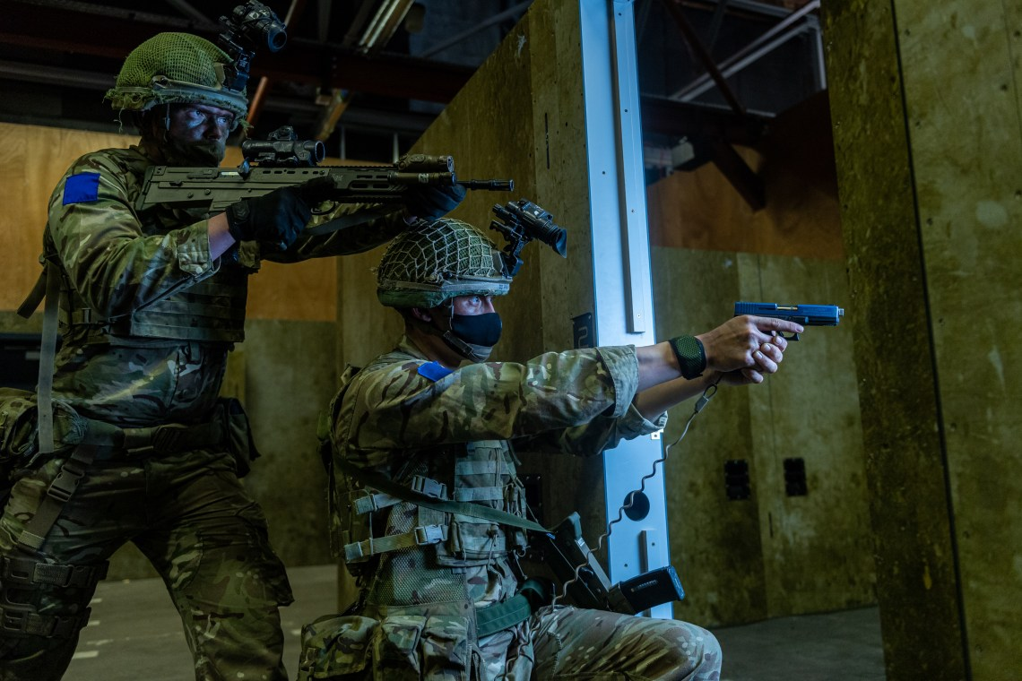 16 Air Assault Brigade has invested in the facility in recognition that the world's population is increasingly shifting to live in towns and cities, and its soldiers need to be prepared to operate in urban areas.