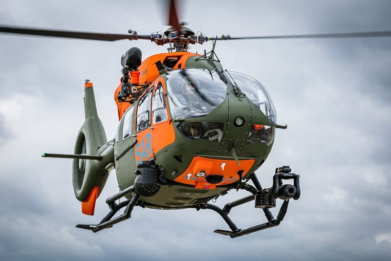 Airbus Delivers Seventh H145 SAR Helicopter for German Armed Forces