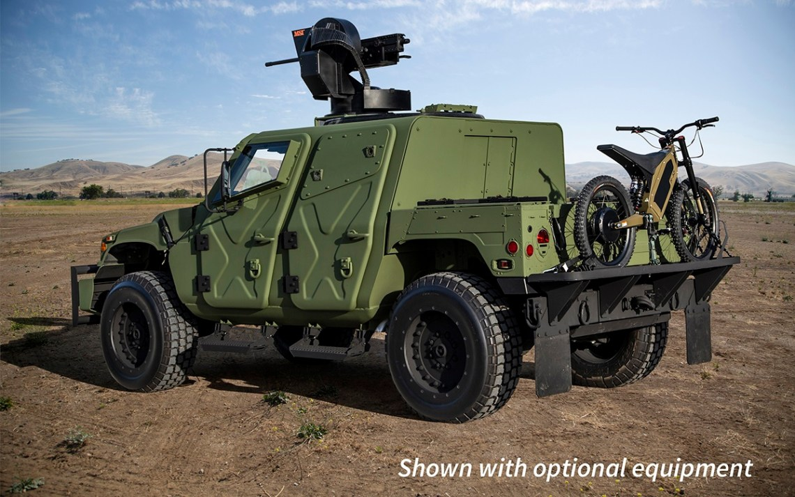 AM General All-New HUMVEE NXT 360