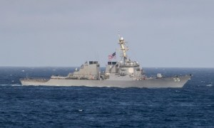 Arleigh burke-class guided-missile destroyer USS Russell (DDG 59)