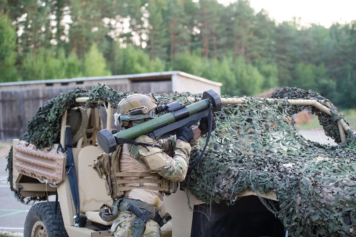 Dynamit Nobel Defence RGW60 Recoilless Gun