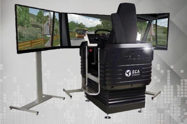 ECA GROUP Simulation Training Systems Truck Driving