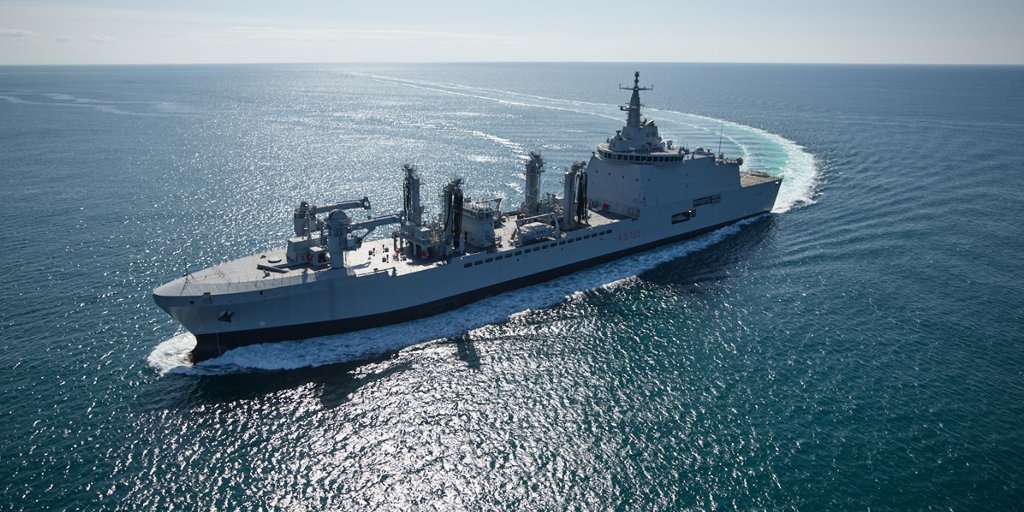 Fincantieri Delivers Logistic Support Ship LSS Vulcano (A5335) for Italian Navy