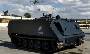 FNSS Tests Unmanned Armored Personnel Carrier Teaming with Drone