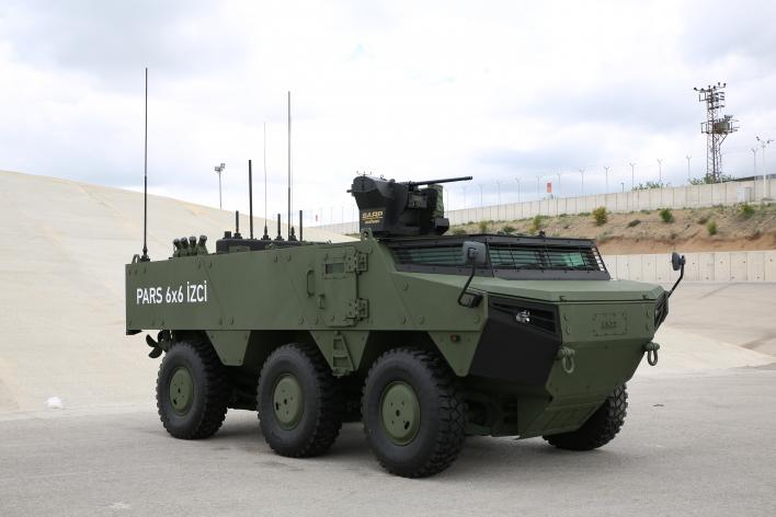 Pars Izci Scout Amphibious Armored Vehicles