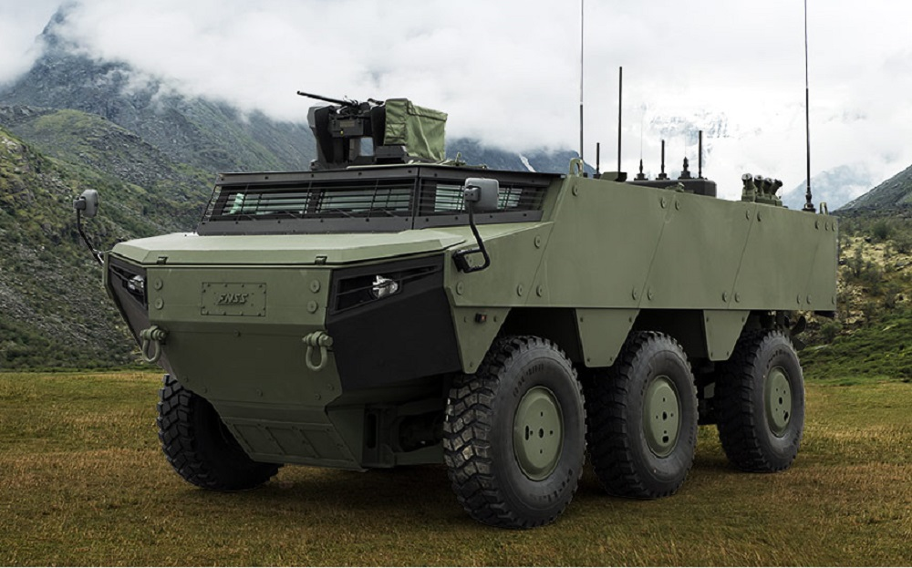 FNSS Starts Production of Pars Izci Scout Amphibious Armored Vehicles