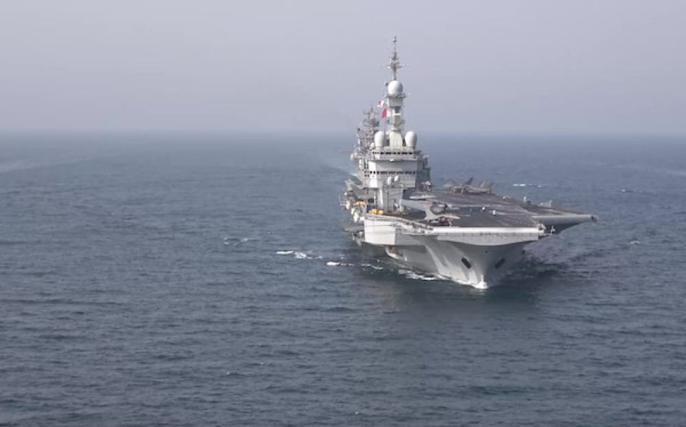 France, Belgium, Japan and U.S. Forces Complete Group Arabian Sea Warfare Exercise 21