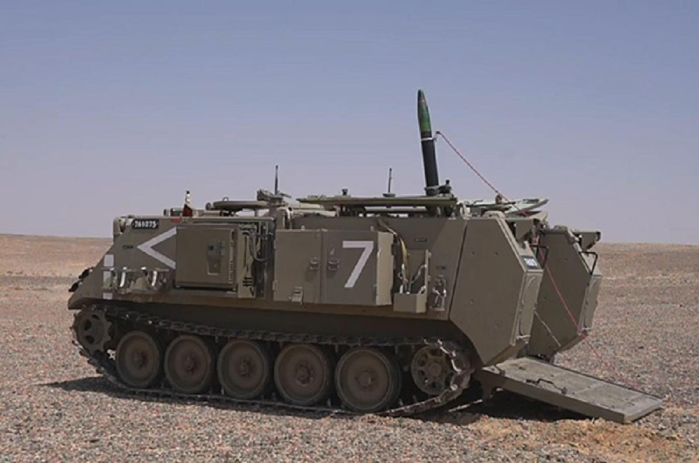 Israel Defense Forces and Elbit Systems Reveal New Iron Sting Guided Mortar Munition