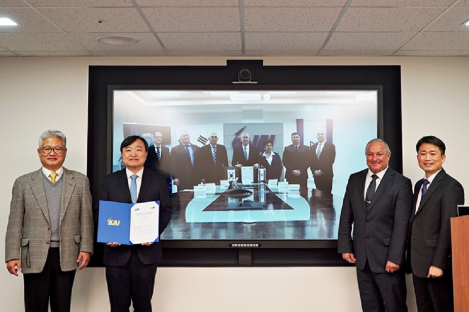 Korea Aerospace Industries and Israel Aerospace Industries enter a collaboration agreement for manned & unmanned teaming systems