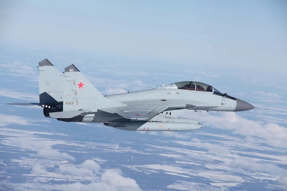 Mikoyan MiG-29K All-weather carrier-based multirole fighter