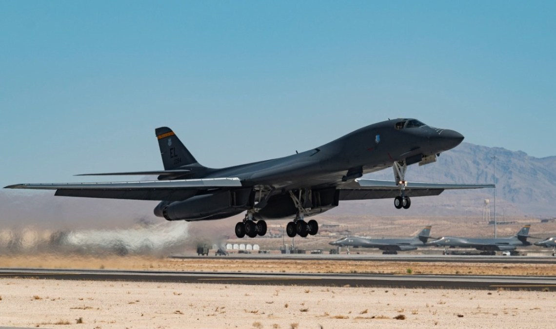 NATO AWACS Provides Support During Exercise Red Flag 21-2 at Nellis Air Force Base