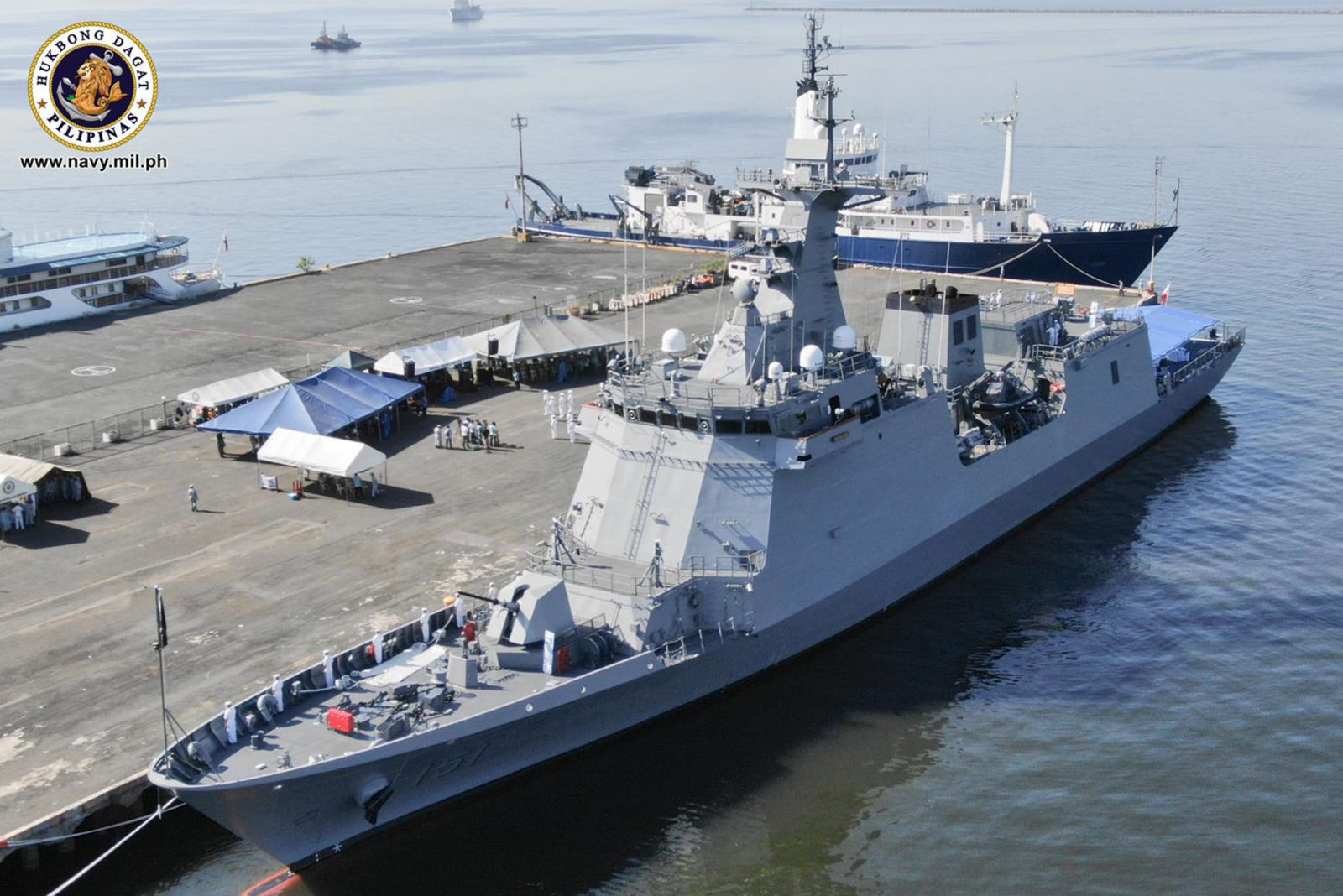 Philippine Navy Commissions BRP Antonio Luna Guided-missile Frigate