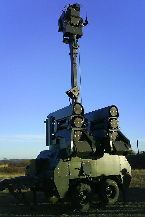 RBS 23 BAMSE air defense system