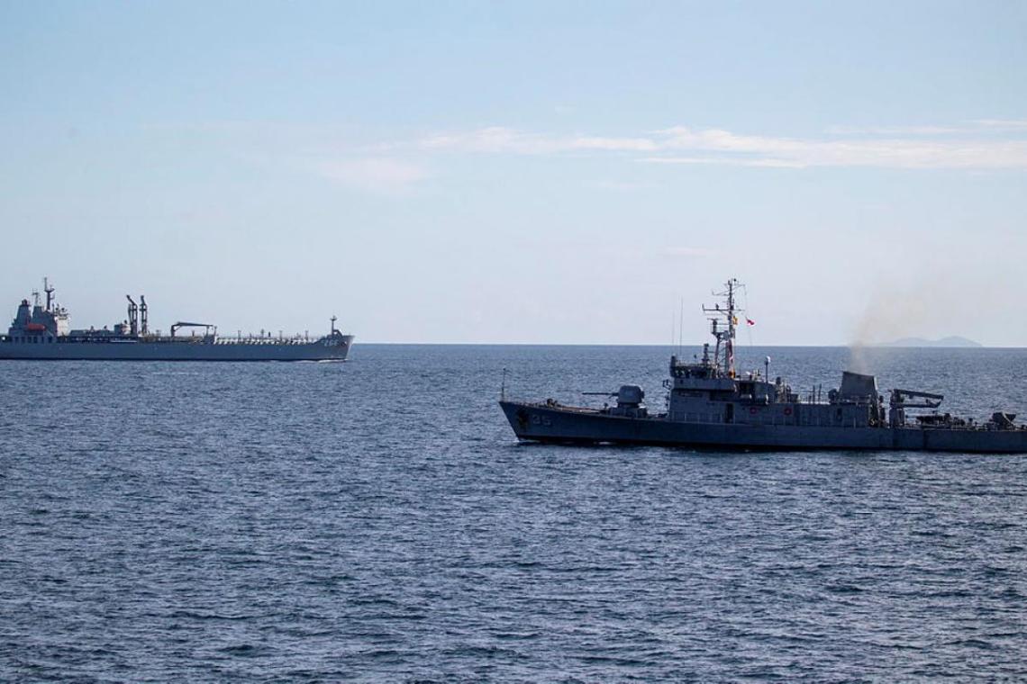 Royal Australian Navy and Philippines Navy
