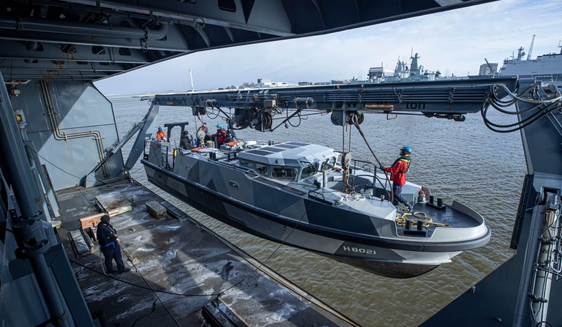 Royal Netherlands Navy's New Expeditionary Survey Boat (ESB)