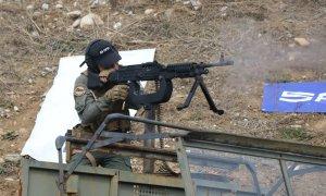 Sarsılmaz's SAR 762 MT-type 12.7 mm heavy machine guns