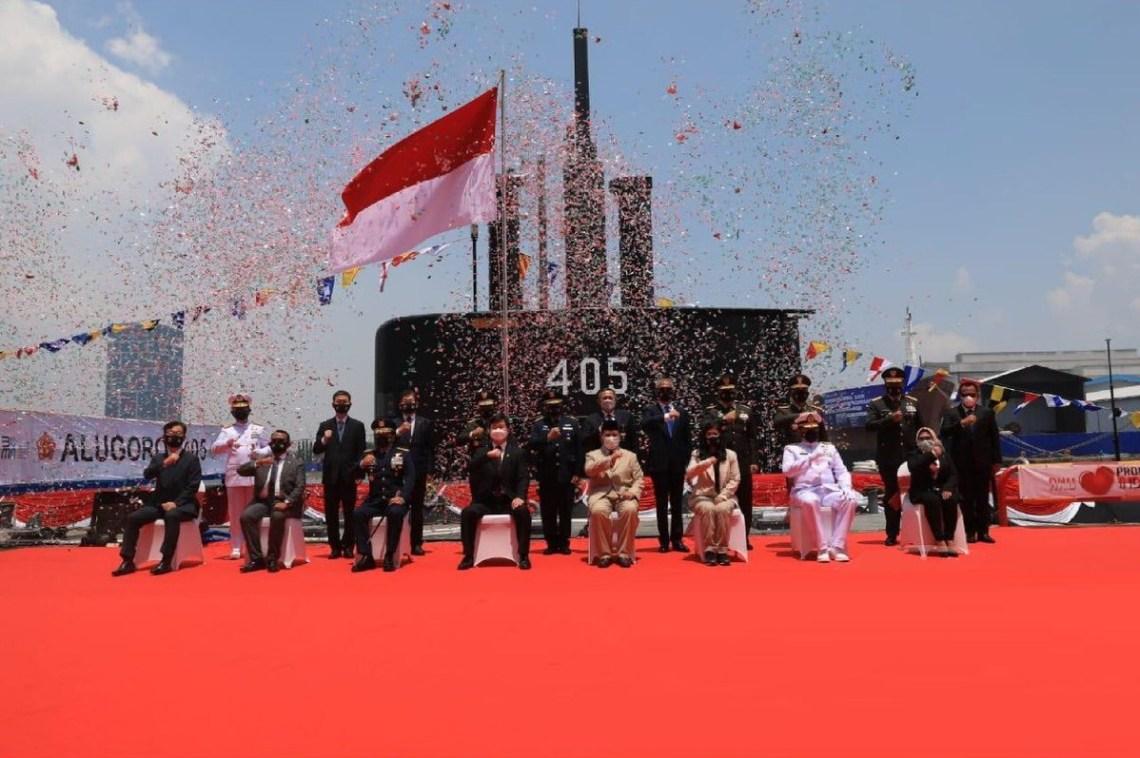 South Korean DSME Delivers New Nagapasa-class Submarine to Indonesian Navy