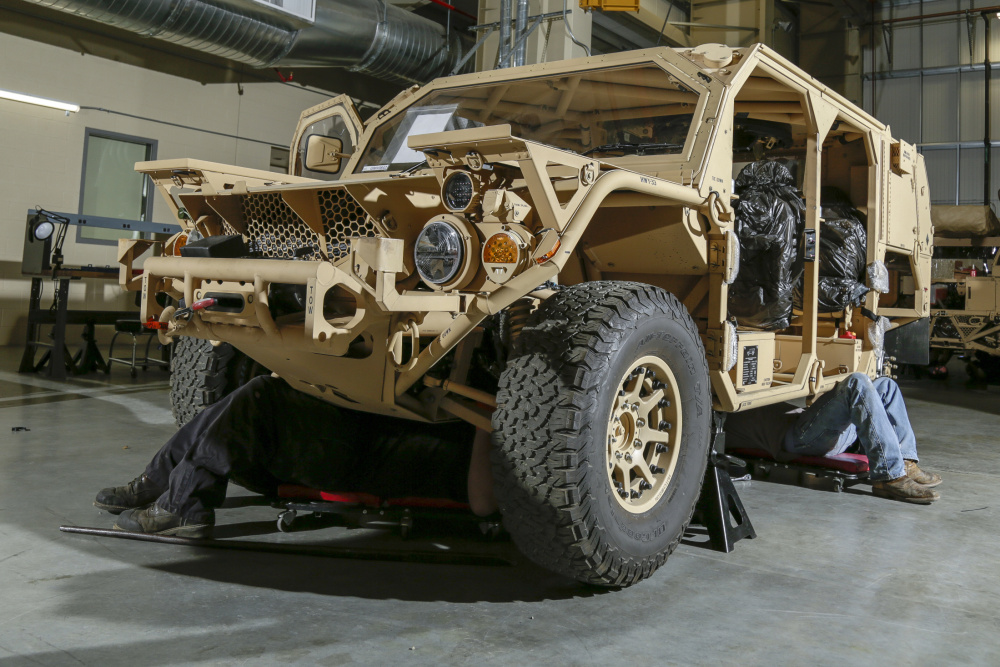 Special Operations Command's Ground Mobility Vehicle coming to Production Plant Barstow