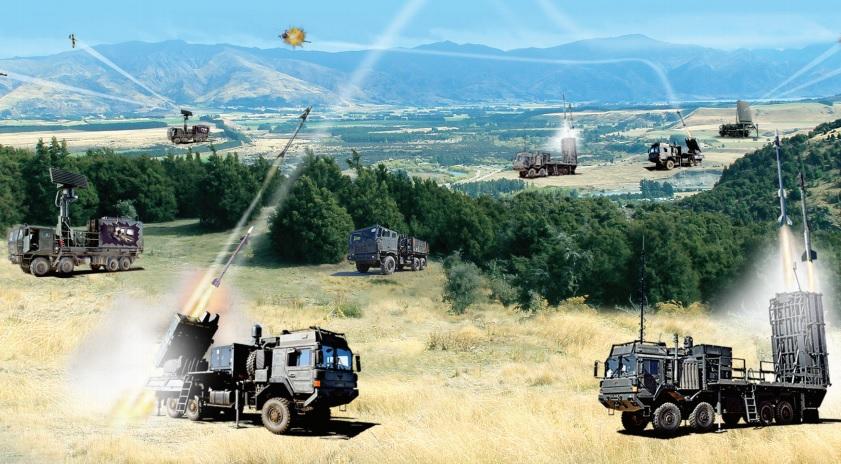 Rafael SPYDER Ground-based Air Defense System