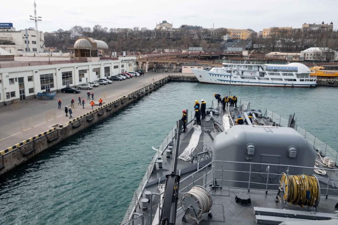 Standing NATO Mine Countermeasures Group Two (SNMCMG2) with Ukrainian Navy