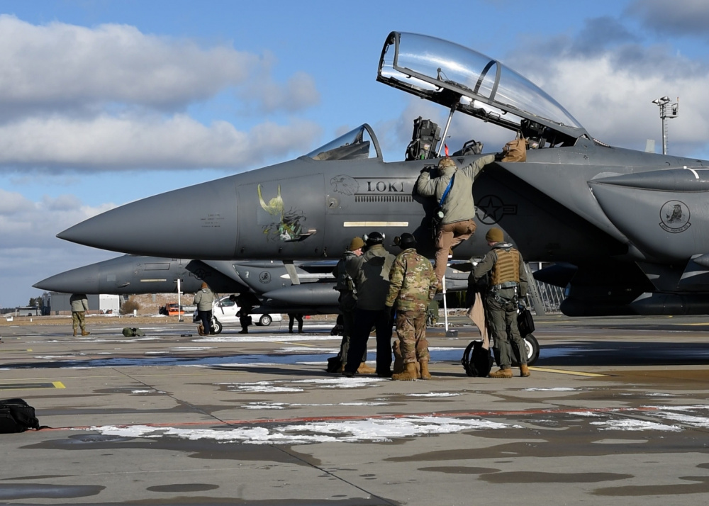 US Air Force 48th Fighter Wing Agile Combat Employment's Baltic Trident