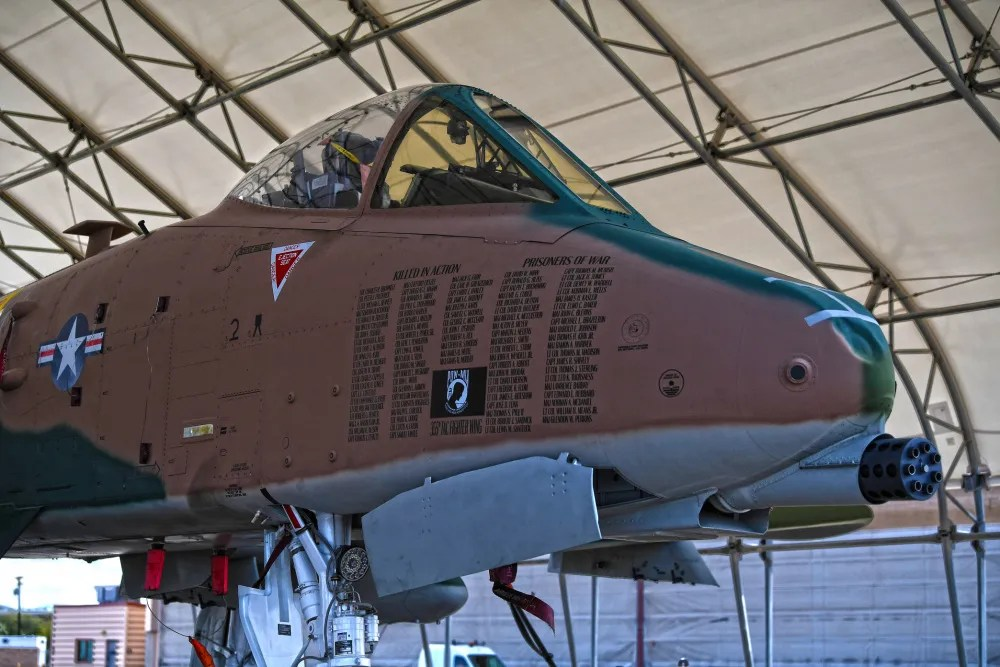 US Air Force A-10 Thunderbolt Demo Team Debuts Camouflage Color Scheme at Naval Air Facility El Centro