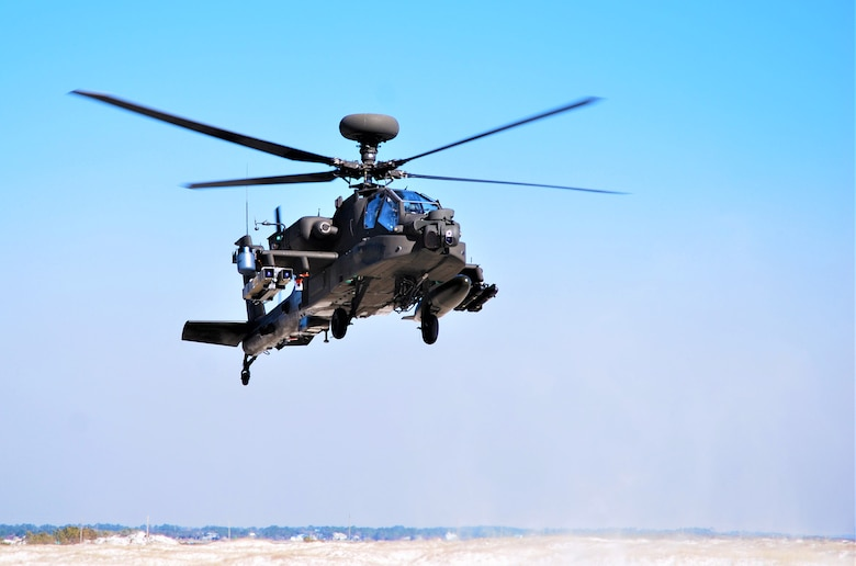 US Air Force Test Squadron Helps Army Apache Helicopter with Spike NLOS Demo