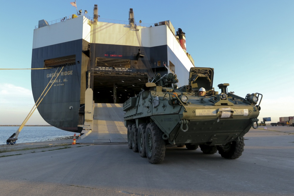 US Approves Sale of Stryker Infantry Fighting Vehicles to North Macedonia
