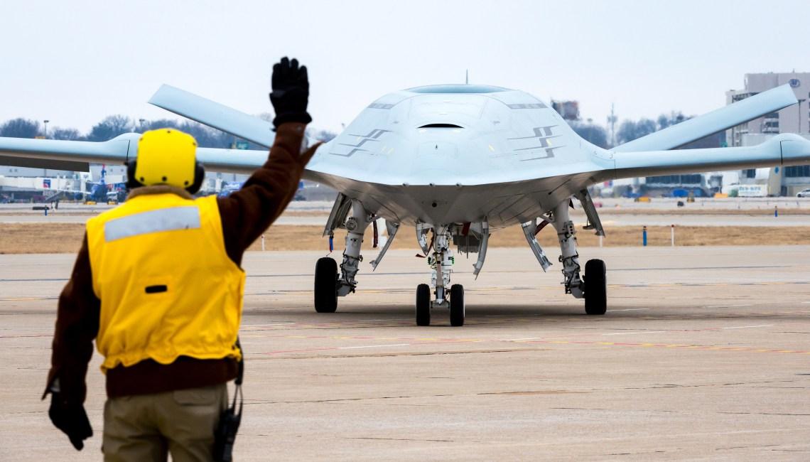 Boeing MQ-25 aerial refueling drone