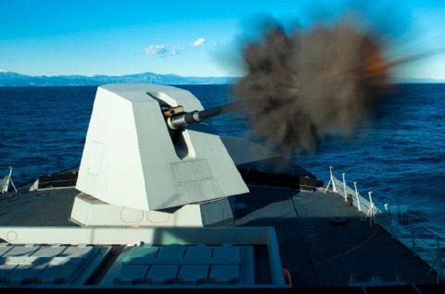 OTO 127/64 LightWeight (LW) Vulcano naval guns