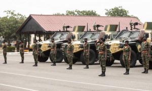 Ghana Armed Force Received Otokar Cobra 2 4x4 Armored Vehicles