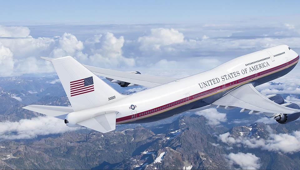 Future Air Force One (VC-25B)